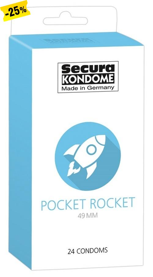 Secura Pocket Rocket 49 mm, 24 kpl