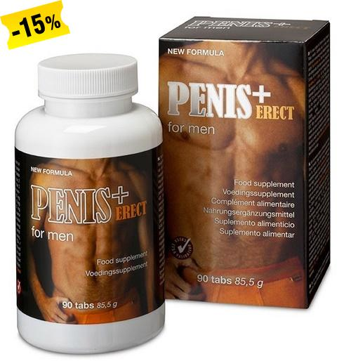 Penis Plus Erect, 90 tablettia