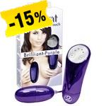 Brilliant Vibro Bullet Purple