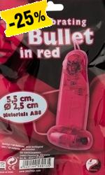 Vibrating Bullet in red