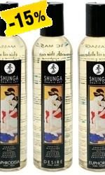 Shunga Erotic Massage Oil 250 ml Exotic Fruits (libido)