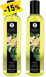 Shunga Erotic Massage Oil - Organica, 250 ml