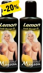 Lemon-hierontaöljy 100 ml