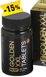 Big Boy Golden XXL, 45 tablettia